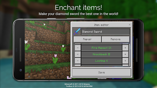 Toolbox for Minecraft: PE 4.3.8.4 screenshots 5