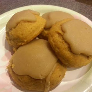 Caramel Pumpkin Cookies