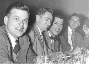 Photo: John Green (at right)