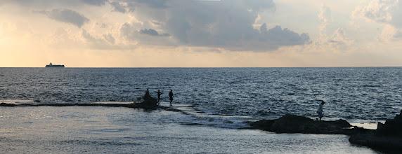 Photo: Fishing, Akko, Israel