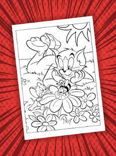 Jerry Coloring Book Screenshot Thumbnail