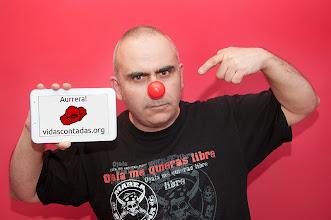Photo: Fernando Lezaun, apreciado fotógrafo del mejor Rock and Roll de Nafarroa y colaborador de VidasContadas.org