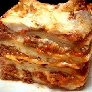 Slow Cooker Lasagna (Get Crocked)