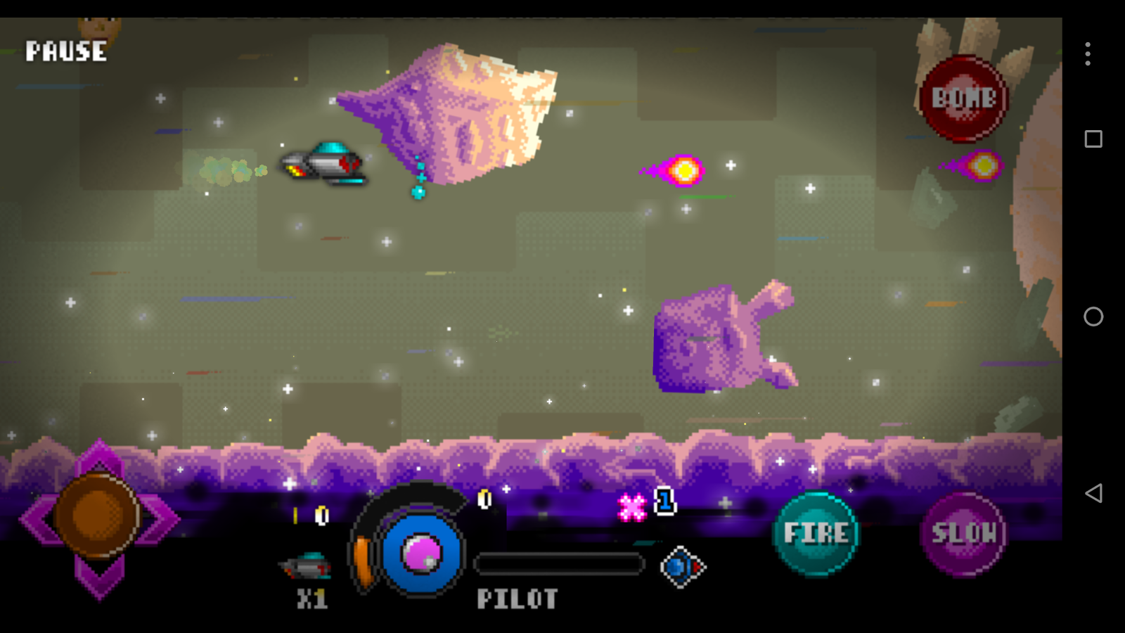 Spacewhale- screenshot