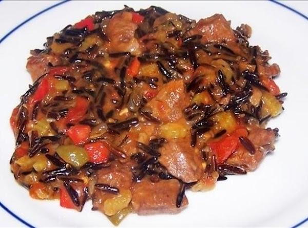 Wild Rice And Venison Casserole Recipe