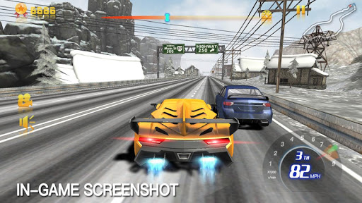 Racing Traffic High Speed - screenshot