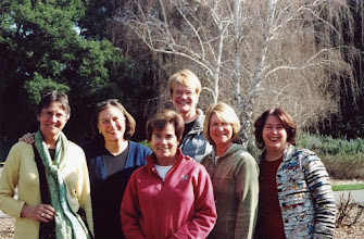 Photo: Mini-reunion of some of the Encinal girls in February of 2007 Karen Hanson, Carol Blackwell, Margie Gough, Ellen Teige, Gretchen Troster and Shirley Standlee