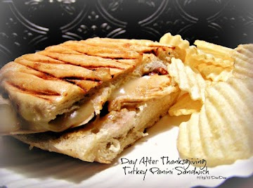 Day After Thanksgiving Turkey Panini Recipe