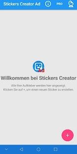 Stickers Creator Ad Screenshot