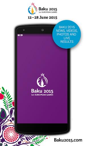 The Official Baku 2015 App