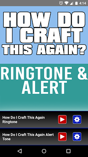 How Do I Craft This Again Tone