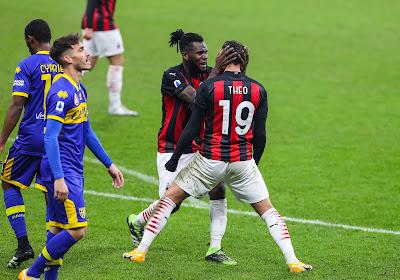 Serie A : l'AC Milan évite la défaite de justesse face à Parme et Maxime Busi