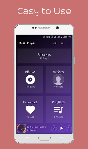 Music Player 1.3.9 screenshots 1