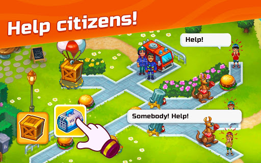 City Rescue Team: Time management game apkpoly screenshots 10