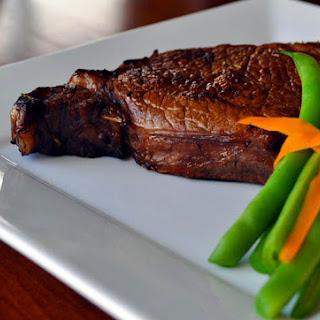Grape Marinated Steak