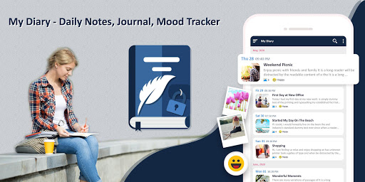 My Diary - Daily Notes, Journal & Mood Tracker ss1