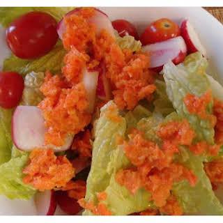 Japanese Carrot Salad Dressing.