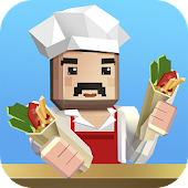Shawarma Cooking Chef Sim 3D