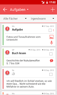 TimeTable++ Stundenplan – Miniaturansicht des Screenshots