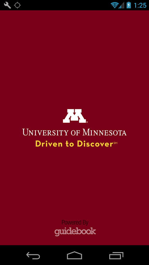 University of Minnesota- screenshot