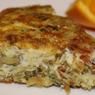 Hashbrown and Bacon Frittata