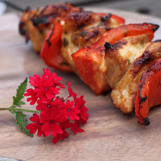 Trifecta Tequila-Lime Glazed Chicken Skewers