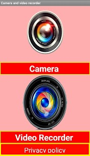 Camera and video recorder for Android – in one App Download For Android 4