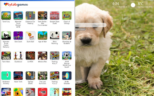 Puppies Wallpaper New Tab Chrome Interneta Veikals