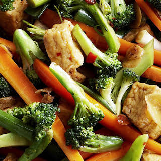 Tofu and Vegetable Stir-Fry.