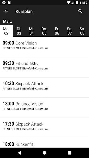 FitnessLOFT screenshot 2