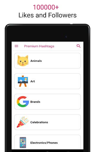 Premium Hashtags: Increase Likes & Followers ?? screenshot 17