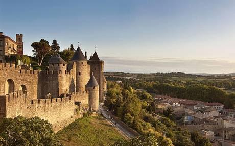 Город-крепость Каркасон 10 лучших достопримечательностей Франции