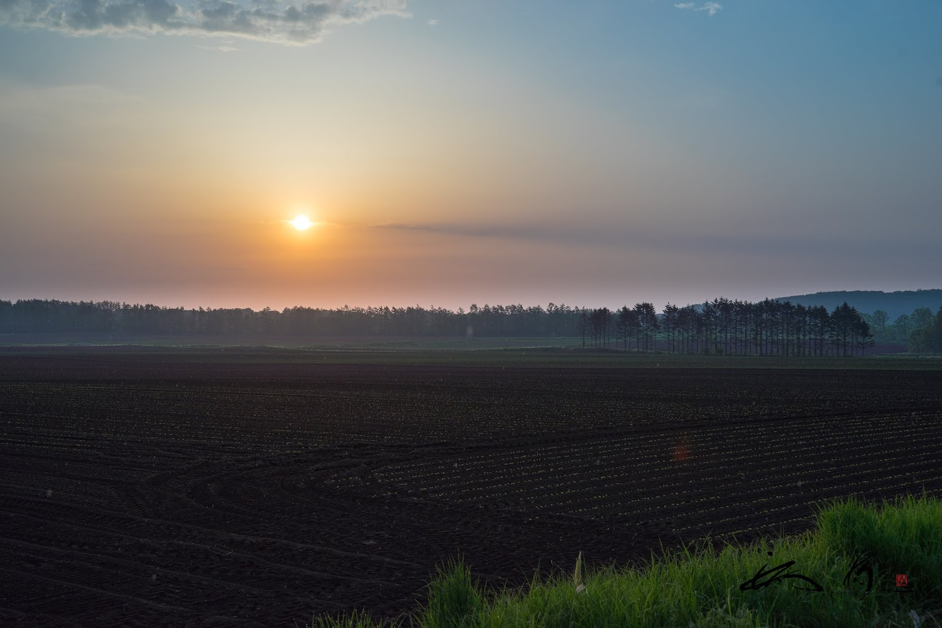 更別村の素敵な朝日