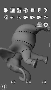 Elephant Pose Tool 3D screenshot 2