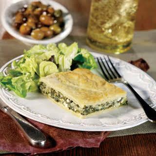 Spinach & Feta Pie.