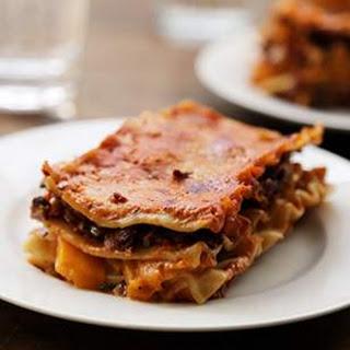 Mushroom & Butternut Squash Lasagna