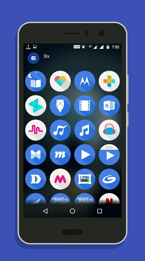 Six - Icon Pack APK Cracked Free Download | Cracked Android