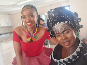 Rural development MEC Nomakhosazana Meth, right, and her staff member Nelitha Diko, who is being investigated by the department for allegedly driving under the influence of alcohol.