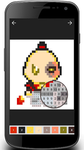 Cartoon Coloring : Color By Number 1.01.0 screenshots 8