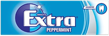 Wrigley's Extra Sugarfree Gum - Peppermint, 10ct, 14g