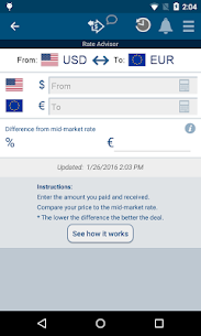 XE Currency Pro v4.6.1 APK 3