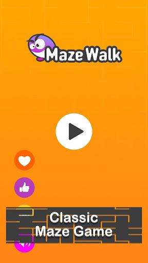 Maze Walk - Classic Maze & Top Brain Game 1.0.6 screenshots 1