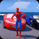 Superheroes Car Stunt Racing Games APK