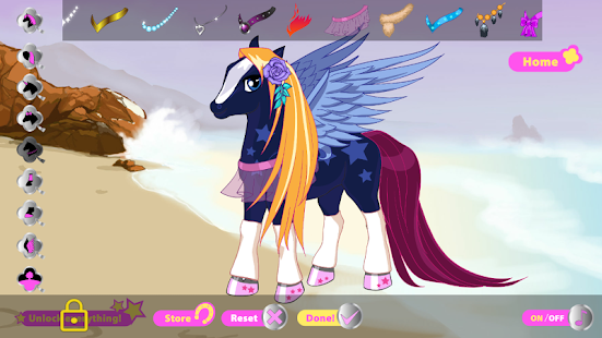Fancy Pony - Dress Up Game- screenshot thumbnail