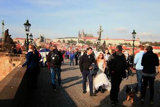 Photo: Praha - Karlův most - pohled na Pražský hrad http://annastehlikova.rajce.idnes.cz/Barevna_podzimni_Praha/#Praha_podzim_2014.jpg