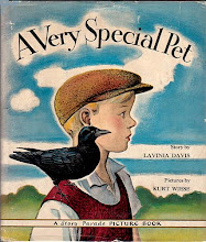 Photo: A Very Special Pet.  Lavinia Davis (author), Grosset & Dunlap, 1940.