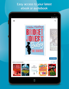 tolino e-book reading app- screenshot thumbnail