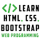 Learn HTML, CSS, Bootstrap - Web Programming for PC-Windows 7,8,10 and Mac