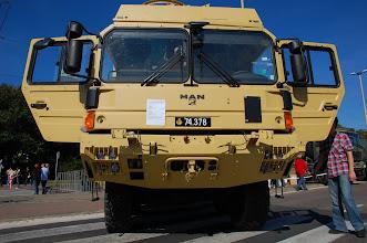Photo: Ciągnik MAN do transportu pojazdów