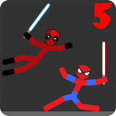 Stickman Warriors 4 - Heros Wars Battel